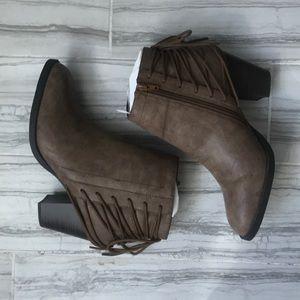 👡Brand new, brown booties👡